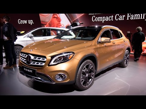 2018 Mercedes-Benz GLA250 & AMG GLA45 First Look: 2017 Detroit Auto Show