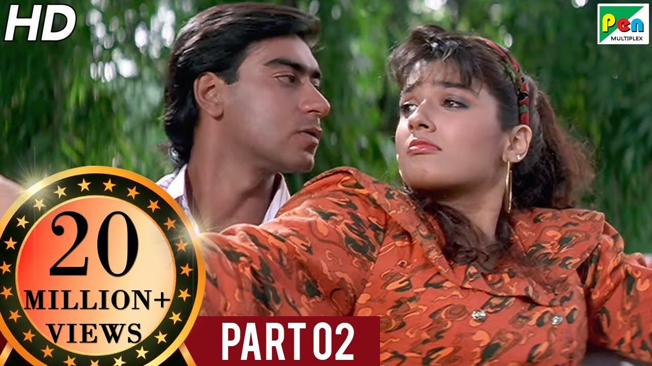 Download Divya Shakti (1993)   Ajay Devgn, Raveena Tandon, Satyendra Kapoor, Amrish Puri   Part - 02