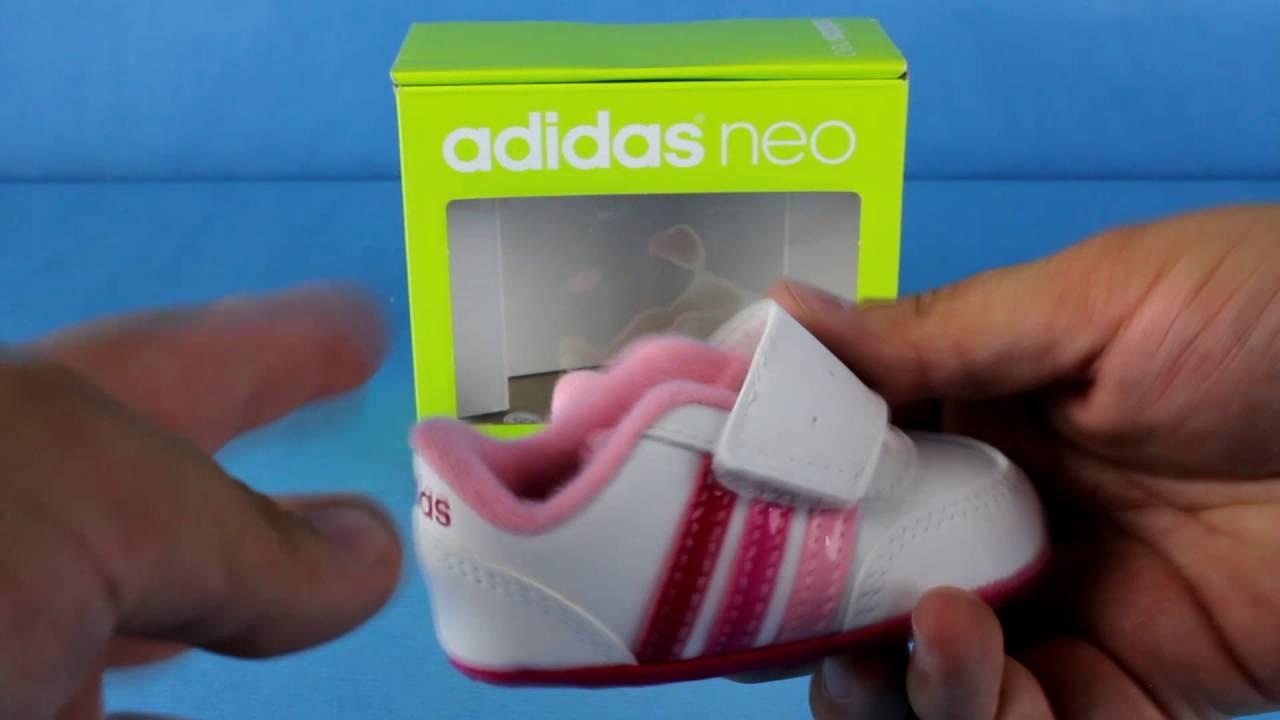 adidas neo v jog crib