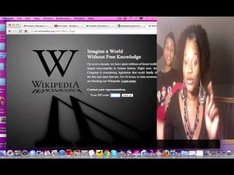 The wikipedia blackout