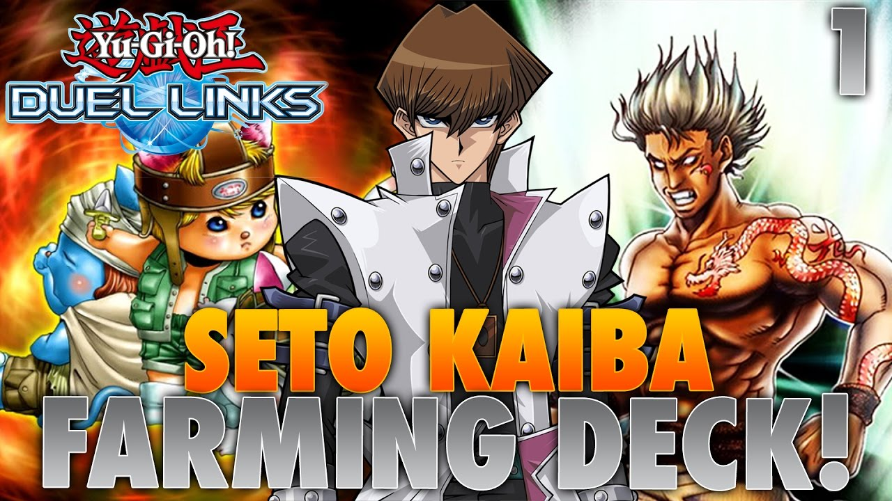yugioh duel links  seto kaiba farming deck attempt 1