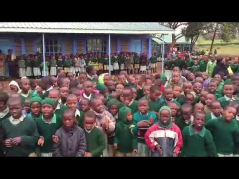 Mweiga Primary - There Is a River For Me to Cross