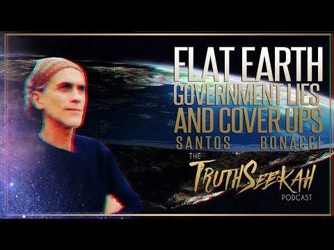 Santos Bonacci  Flat Earth, Government Lies And Cover Ups thumbnail