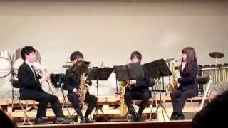 民謡風ロンドの主題による序奏と変奏 西関東アンサンブルコンテスト金賞...