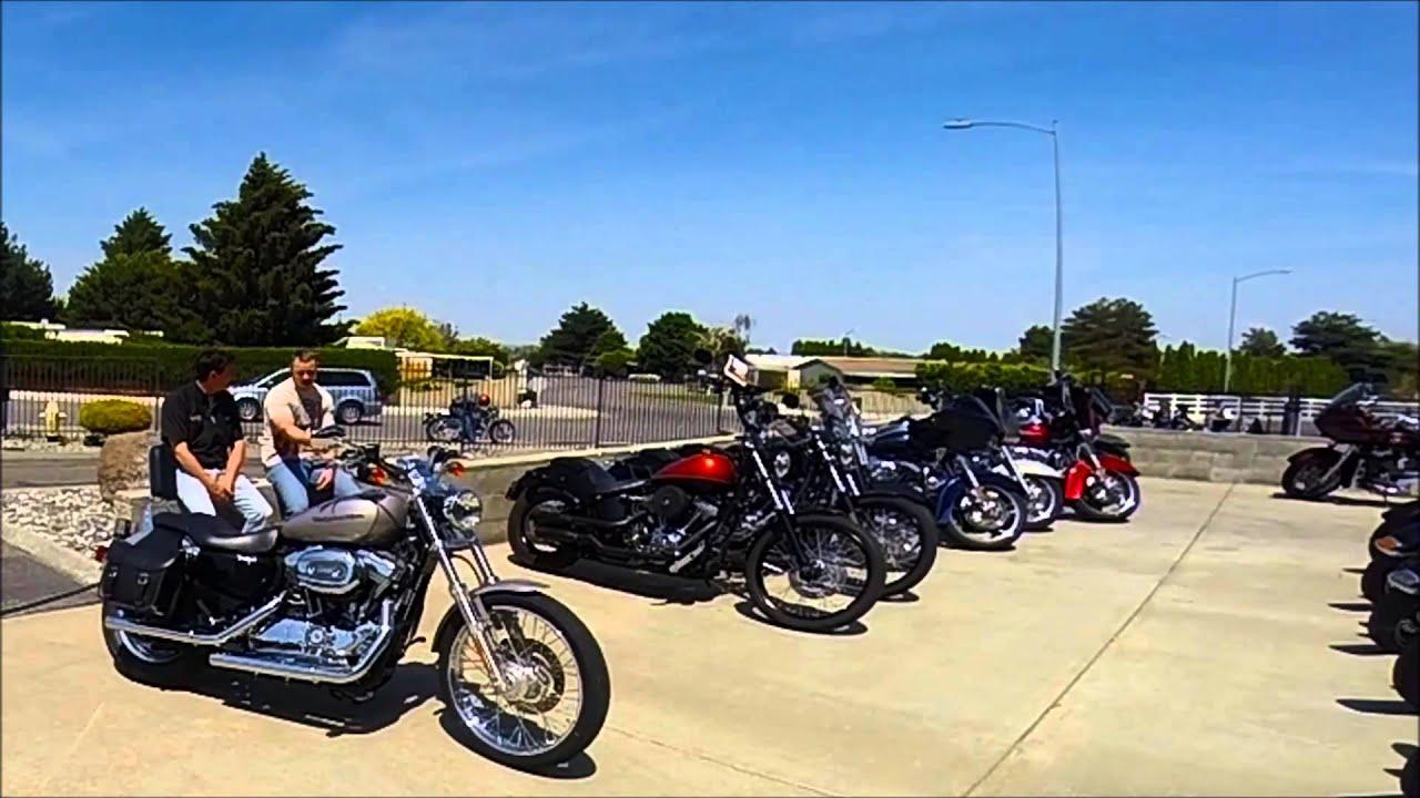 Rattlesnake Mountain Harley-Davidson Demo Ride Weekend - YouTube