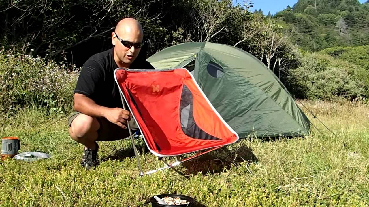 Alite Monarch Backpacking Chair   YouTube