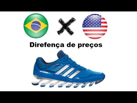 664a79562b Comparação de preços Brasil e EUA - tênis adidas - YouTube