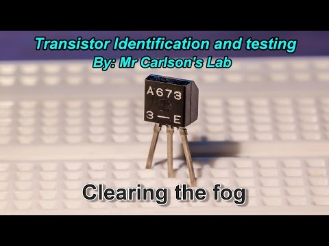 Transistor Identification and Testing made easy.