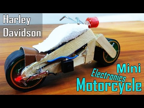 How To Make A Mini Electric Motorcycle Harley Davidson