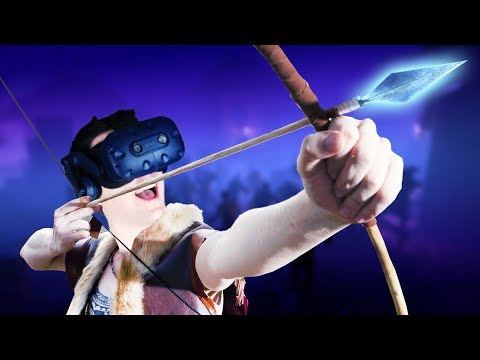 MAGICAL BOW AND ARROW POWERS! - SACRALITH : The Archer`s Tale Gameplay - VR HTC Vive Pro (Sponsored)