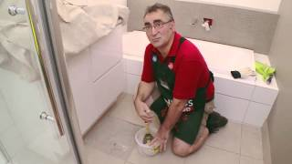 how to replace a broken floor tile diy at bunnings