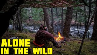 Solo Hammock Camping - Waterfalls