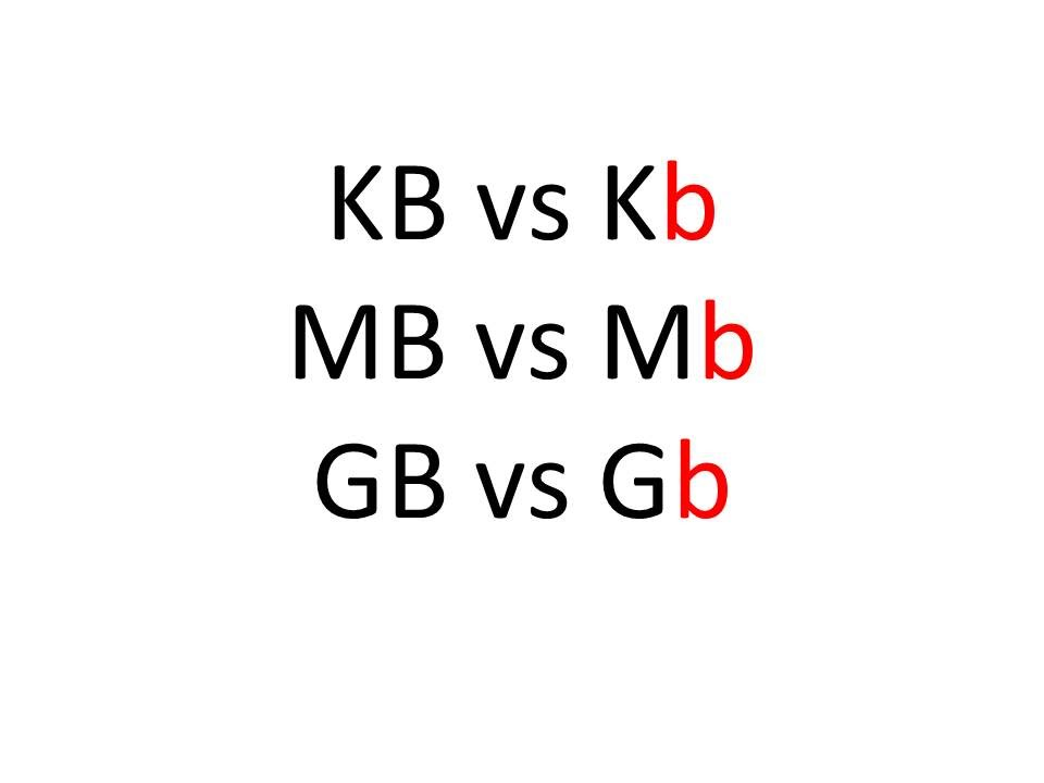kb to mb