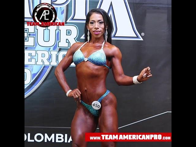 ANITA STAGE - WOMEN'S WELLNESS - MR OLYMPIA 2020 - TEAM AMERICAN - www.TeamAmericanPro.com