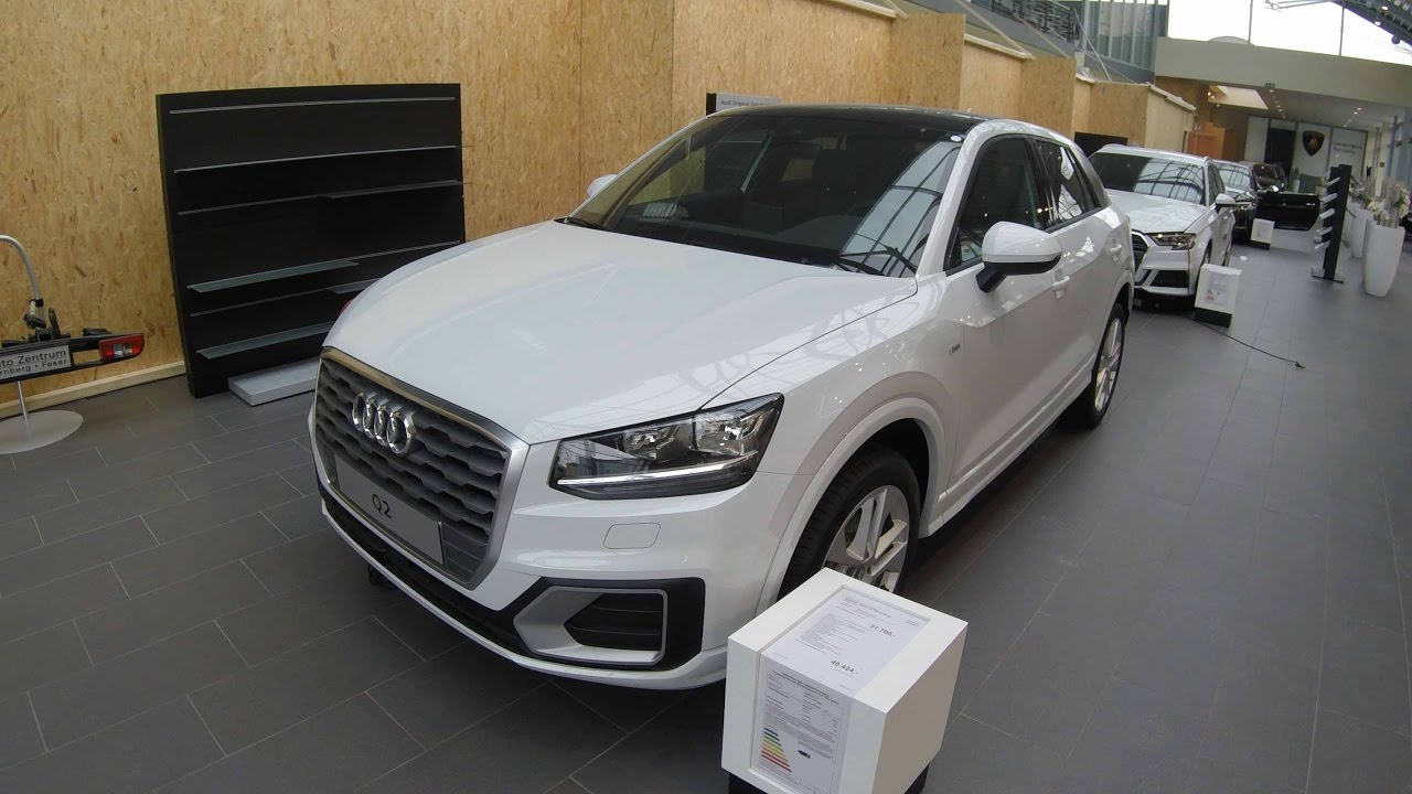 audi q2 sport 1 6 tdi s line edition 2017 white colour walkaround and interior youtube. Black Bedroom Furniture Sets. Home Design Ideas