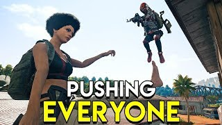 PUSHING EVERYONE - PUBG (PlayerUnknown's Battlegrounds)
