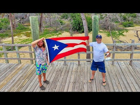 Visiting The Beaches Of Aguadilla And Isabela With Hayden - Puerto Rico 2019