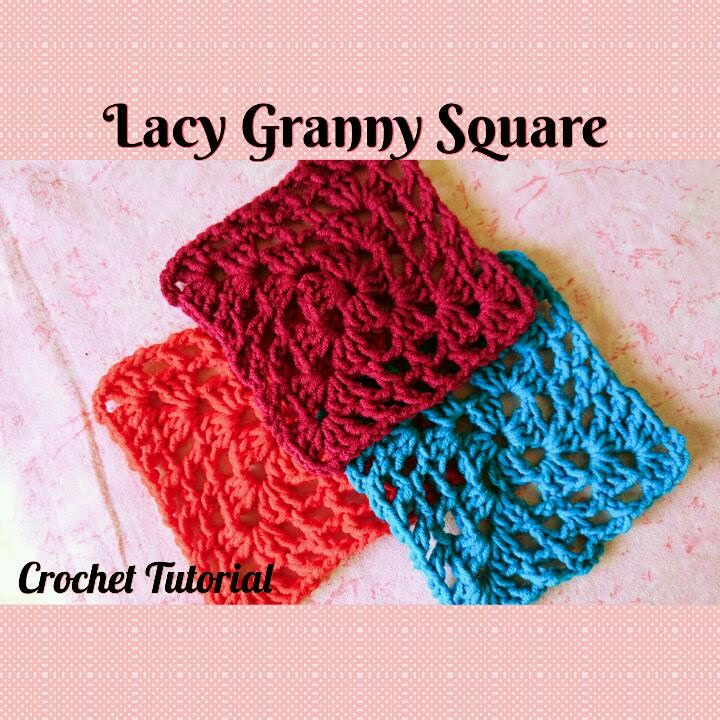 Crochet Made Easy How To Make A Lacy Granny Square Tutorial Pearl Gomez