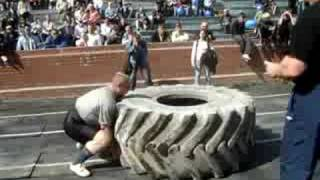 переворот покрышки 350 кг