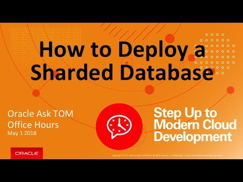 Sharding | Distributed Database Technologies