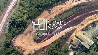 Obras a Todo Vapor - Loteamento Cidade Nova