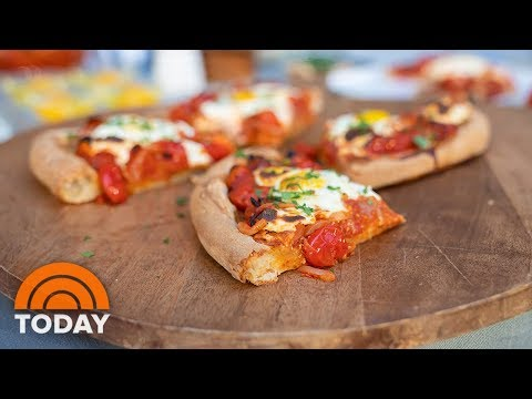 Father's Day Recipes: Nikki Bidun's Breakfast Pizza And Swiss Roll | TODAY