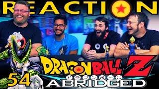 TFS DragonBall Z Abridged REACTION!! Episode 54