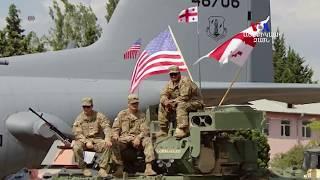 Վրաստանում ԱՄՆ ի փոխնախագահը ողջունեց նաեւ Հայաստանի եւ այլ երկրների զինվորականներին