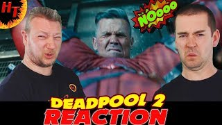 DEADPOOL 2 Final Trailer REACTION Ff Ryan Reynolds(2018 HD) starrin...