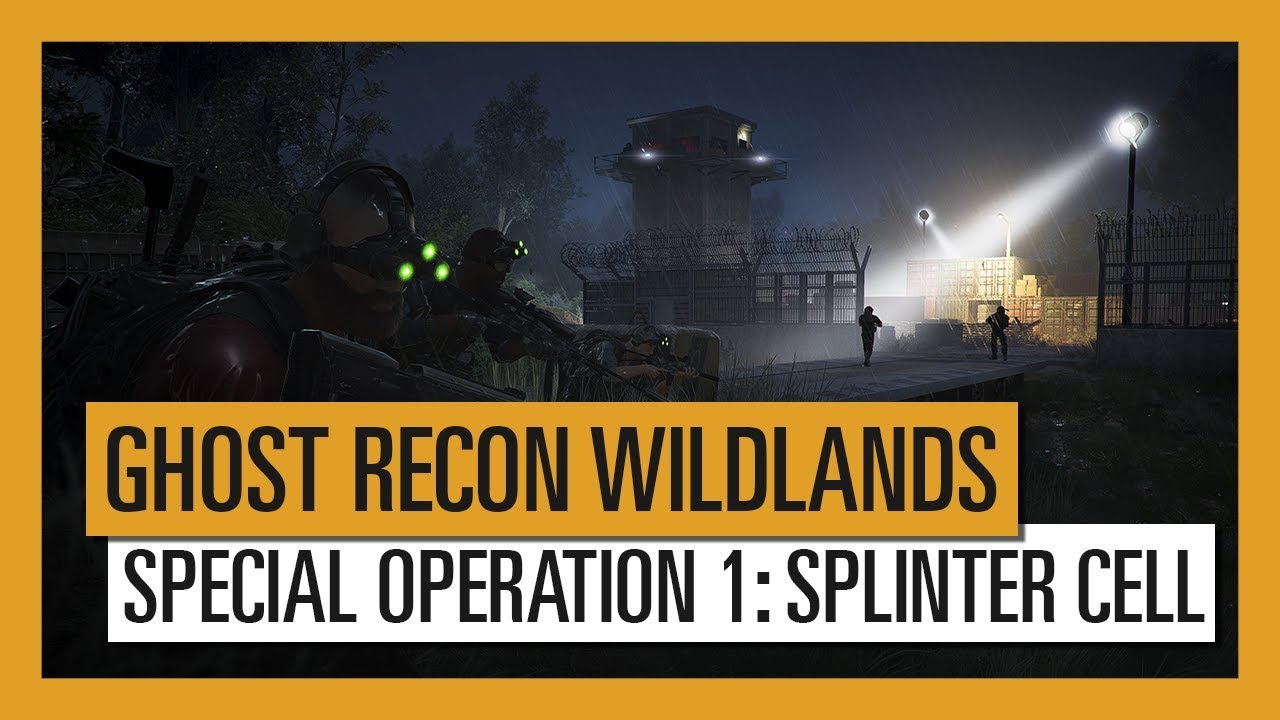 Sam Fisher is sneaking into Ghost Recon Wildlands today - VG247