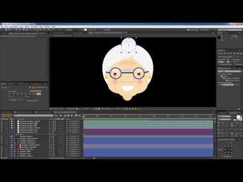 Риг лица персонажа в After Effects