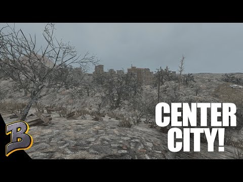 Center City Mayhem! Don't Hit The Land Mines! 7 Days To Die Ep 17
