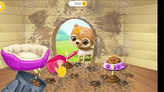 Dog 🐶 house 🏠clean 🤩🤩baby game