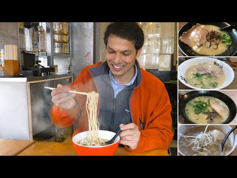 Fukuoka Ramen Eating Spree ★ ONLY in JAPAN