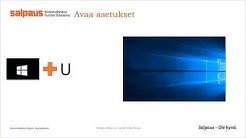 Microsoft Windows 10 pikanäppäimet