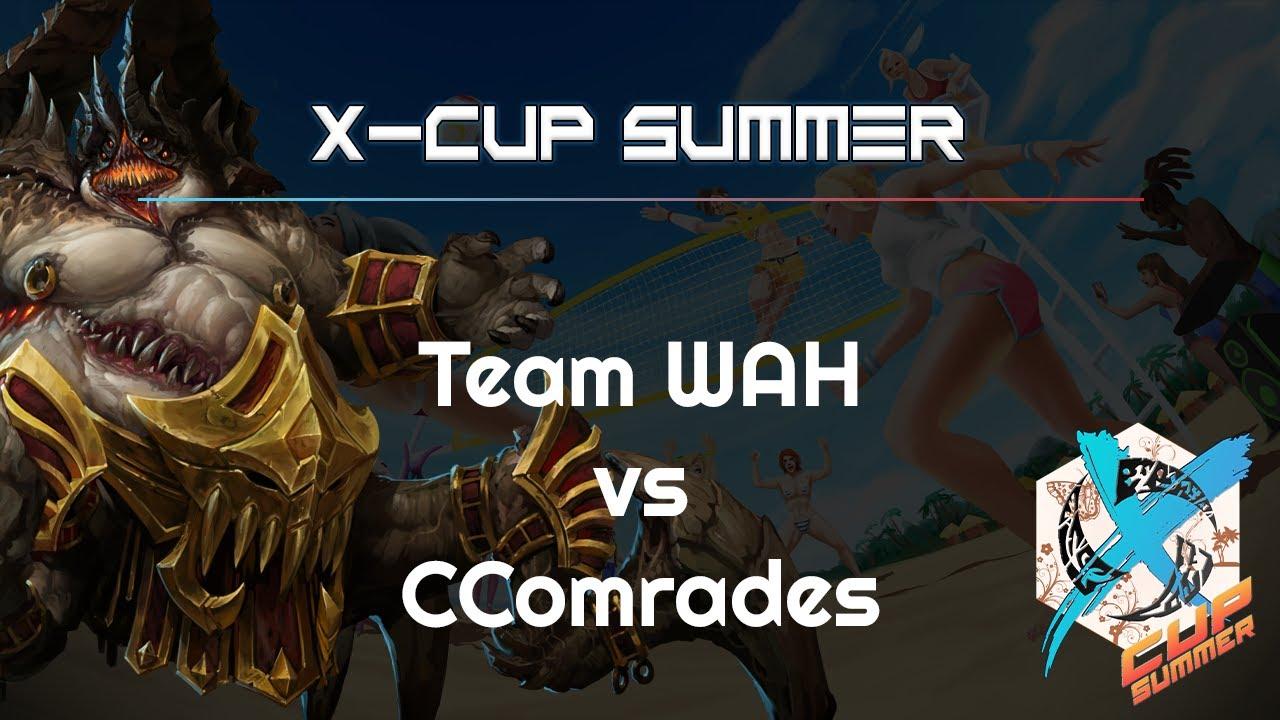 WAH vs. CComrades - X-Cupp Summer - Heroes of the Storm 2021