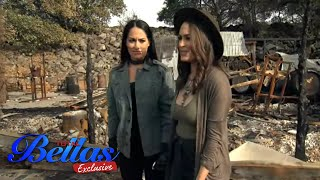 Vineyard destroyed by wildfires shocks The Bella Twins | Total Bellas Exclusive