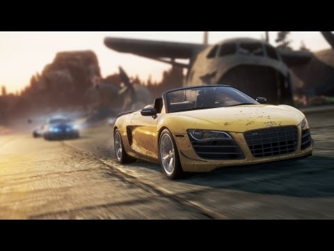 Need for Speed™ Most Wanted Audi R8 GT Spyder Hidden Location Find It, Drive It (NFS001)