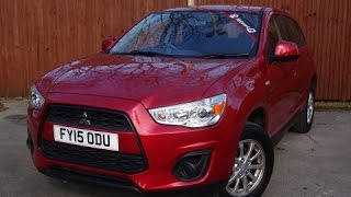 FY150DU - Mitsubishi ASX 1.6 2 5dr in Red