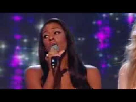 X Factor Finalists + Mariah Carey singing Hero Live Performance