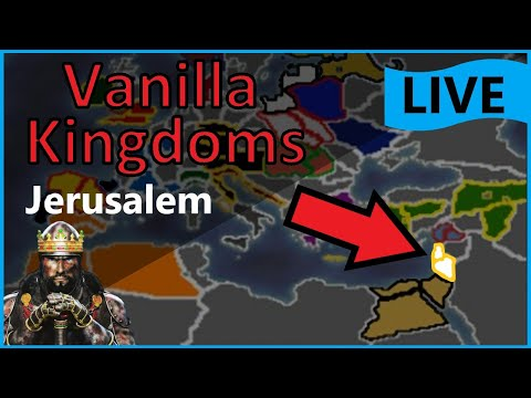 Jerusalem, But it's on the Vanilla Map! Medieval 2 Total War #1