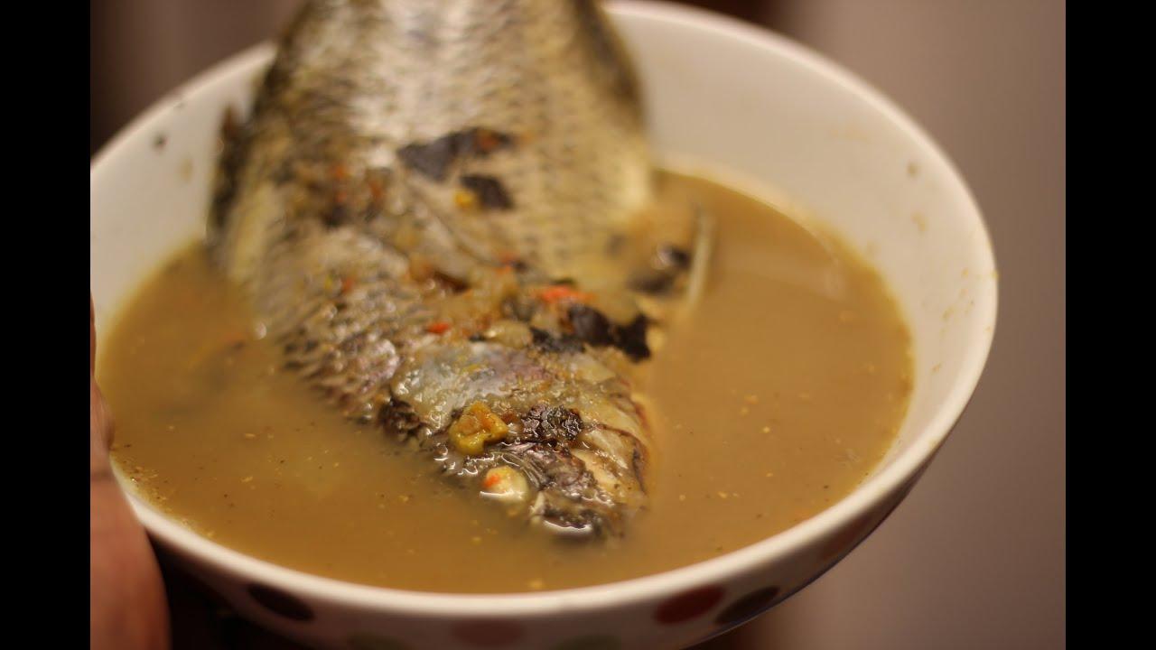 Fish pepper soup | Tilapia Fish Soup | Nigerian food - YouTube
