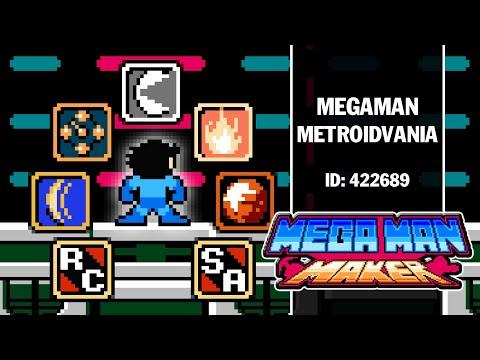 Megaman Metroidvania -