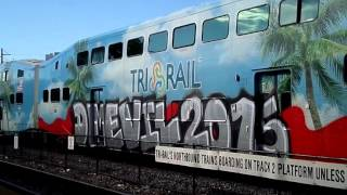 TAGGED Tri-Rail Cab Car on Tri-Rail P621-11!!!  ALSO Tri-Rail P616-11.