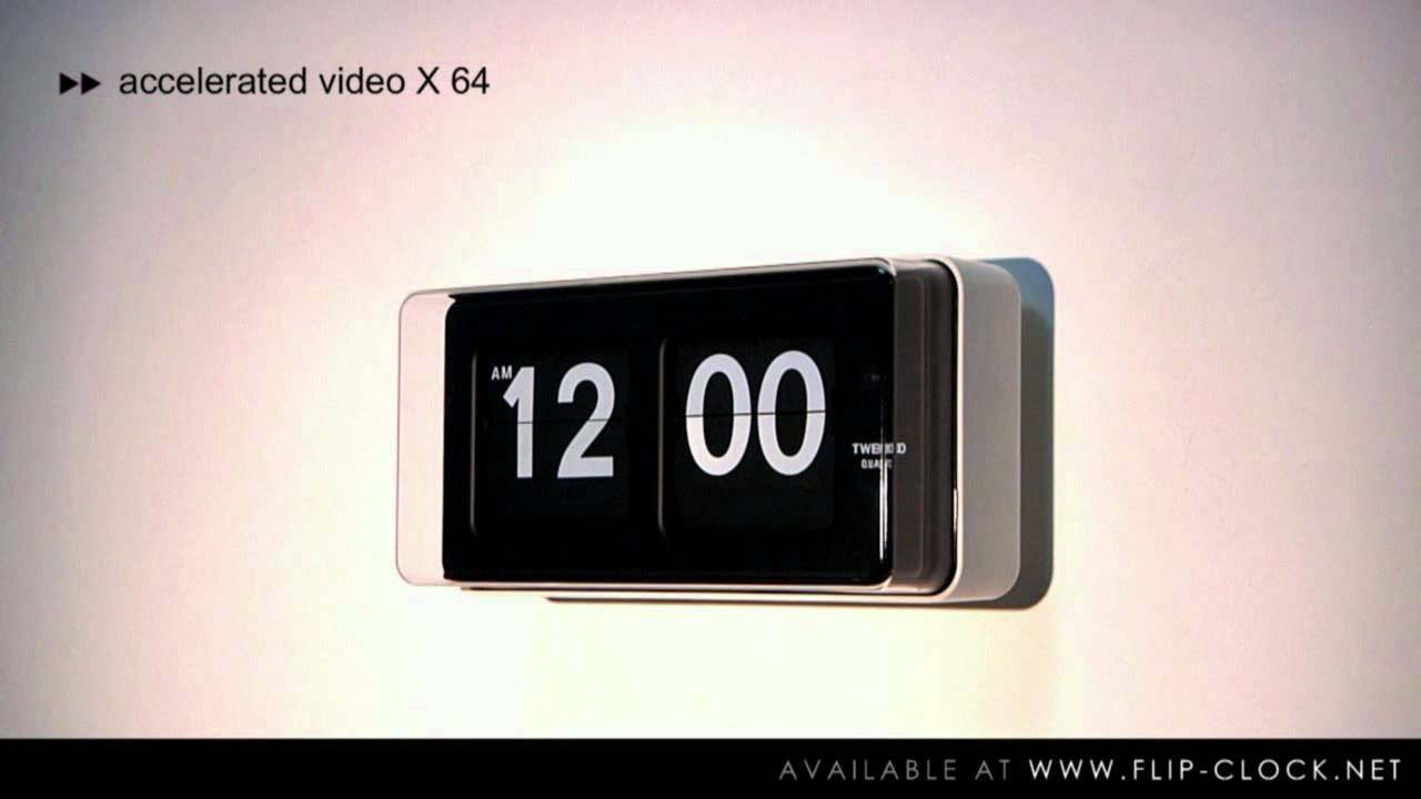 Twemco Flip Clock (Official Product Video By Www.flip Clock.net) Model: BQ50