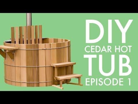 DIY Cedar Hot Tub (Episode 1): Finding Affordable Clear Cedar Boards