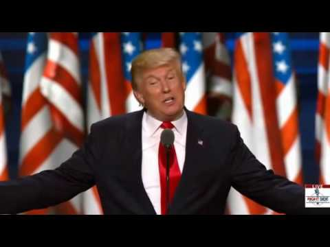 "Donald Trump: ""I Alone Can Fix It"" RNC, Cleveland, OH, 7/21/16"