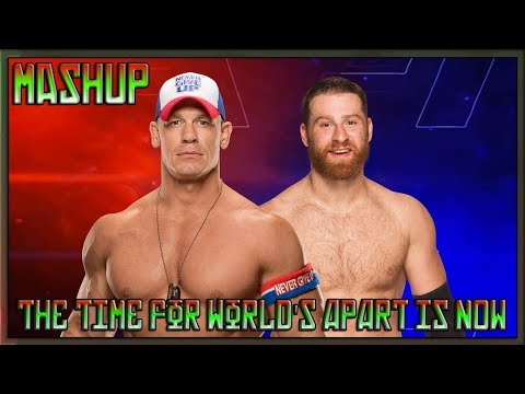Sami Zayn & John Cena - The Time for Worlds Apart is Now [Mashup]