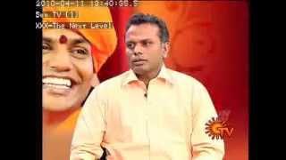 LENINKARUPPAN (DHARMANANDA) sun tv nijam  TAMIL INTERVIEW- 2010
