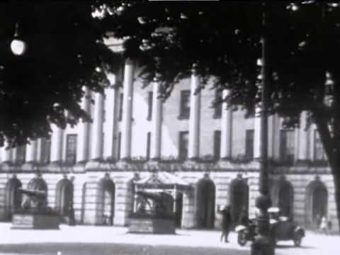 Raw footage of Cheltenham in 1920